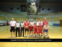 مباراة القدامى - دمشق صالة الفيحاء تشرين الأول 2011
