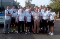 المنتخب الوطني للرجال - غرب آسيا 2015 - بعثة المنتخب