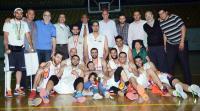 دوري الرجال - تجمع الدور النهائي - الوحدة بطل الدوري لموسم 2014-2015