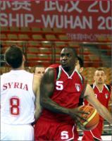 بطولة آسيا واهان 2011 - سوريا × الأردن - راشيم رايت