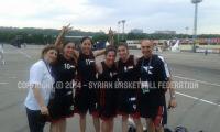 بطولة العالم لكرة السلة 3×3 - بعثة المنتخب - اليوم الثاني